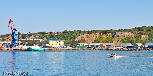 Корсаковский порт